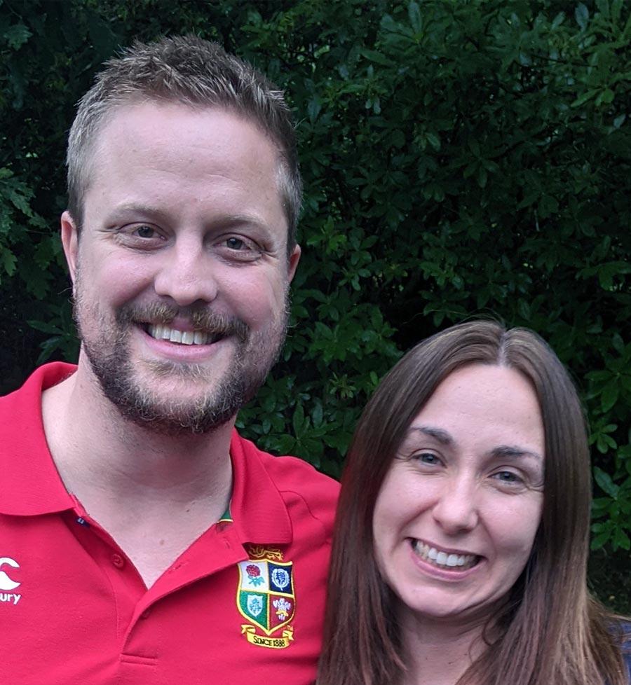 David and Emma Hutchings